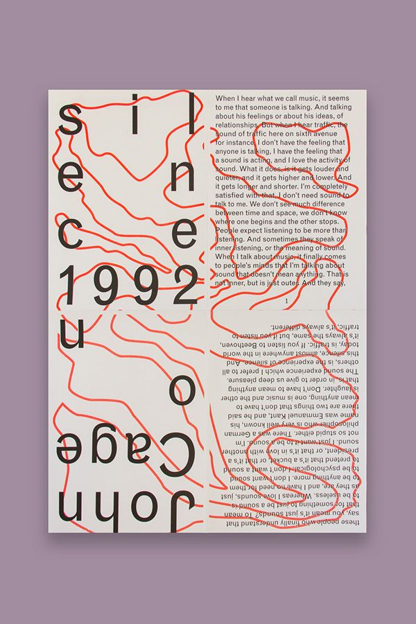 Yale Thesis Book Posters by Sunny Park, via Behance