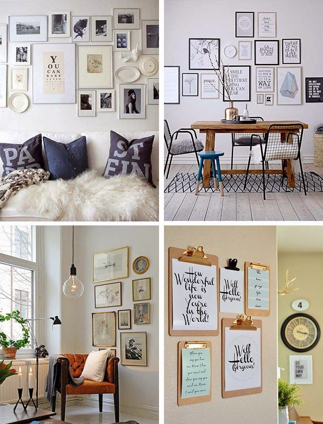 Home Shabby HomeDecorare una parete con i quadri  MAVI cornici  Pinterest  Home and Shabby