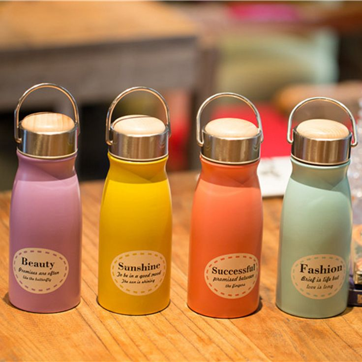300ml Mini Cup Thermal Mug Vacuum Insulation Bottle Thermos Cafe Coffee Water Bottle Tumbler Water Tea Flask Kid Gift