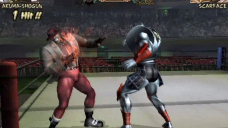 Kinnikuman Muscle Grand Prix 2 (PlayStation 2) Arcade as Akuma Shogun