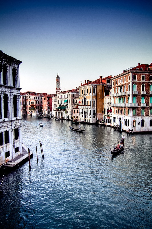 Gondolas - Venice. best vacation.