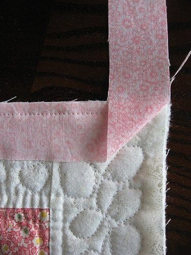 Binding with Mitered Corners 3