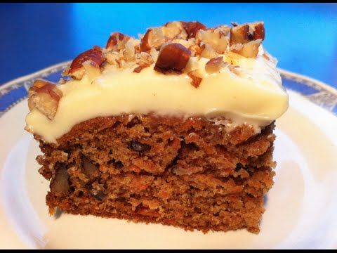 Family Homemade Carrot Cake Video (Just FYI - recipe says to use pureed carrots but it shows shredded - I will use shredded)