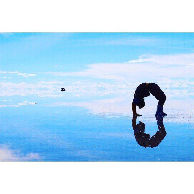 【厳選40枚】死ぬまでに見たい絶景!ウユニ塩湖、表情の変わる7色の絶景画像 13枚目の画像