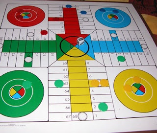 Parchis board game - spain