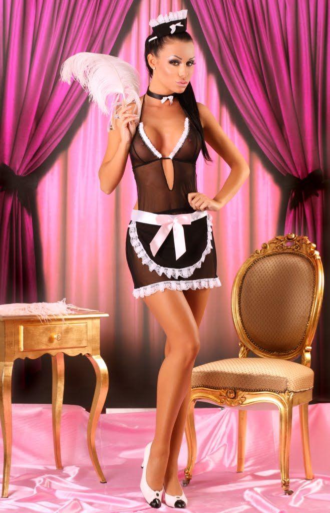 Lolitta - Francesca kostium pokojówki