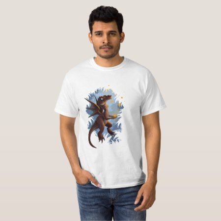 Fire Dragon T-Shirt - tap to personalize and get yours