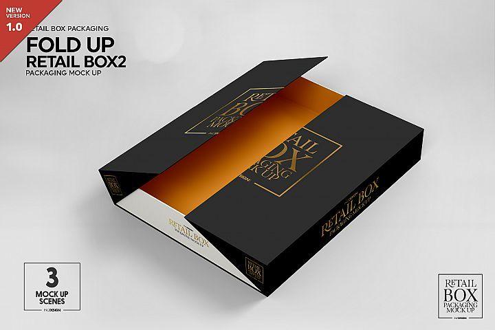 Download Fold Up Retail Thin Box Packaging Mockup 291873 Branding Design Bundles Design Mockup Free Packaging Mockup Box Packaging