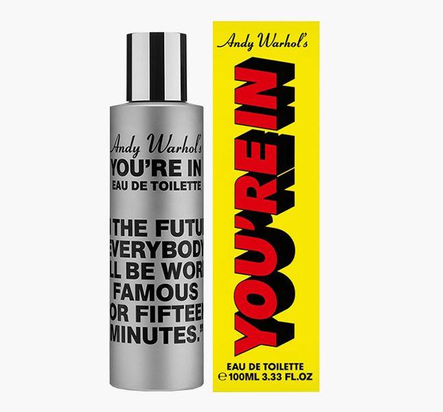 Цитаты Энди Уорхола на упаковках нового аромата Comme des Garçons