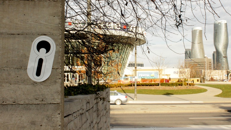 Square One with Marilyn in the background #Mississauga