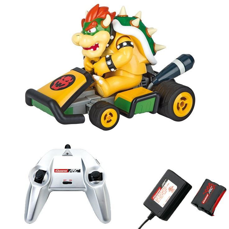 Bowser Mario Kart 7 Carrera Rc 370162064 - Cart Radio Commandé - Voiture à 47,59€ au lieu de 67,99€