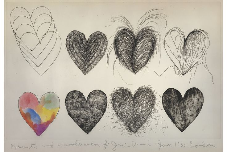 Jim Dine gives an exceptional collection of his prints to the British Museum in honour of Alan Cristea
