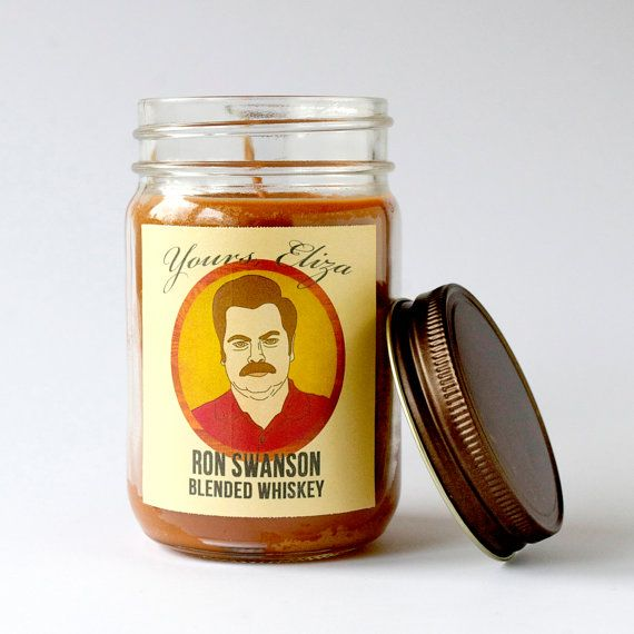 Ron Swanson | Blended Whiskey Candle