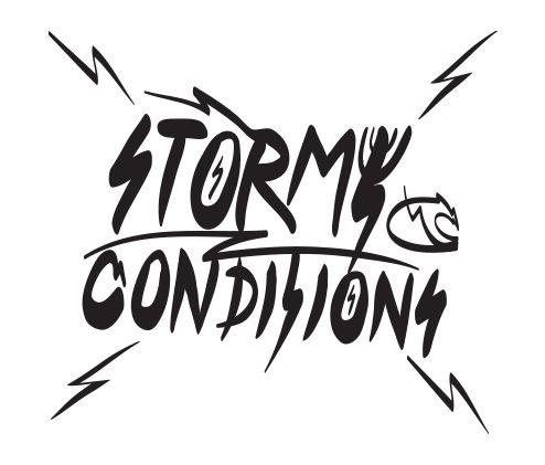 Stormy conditions - #Windsurfing #Kitesurfing