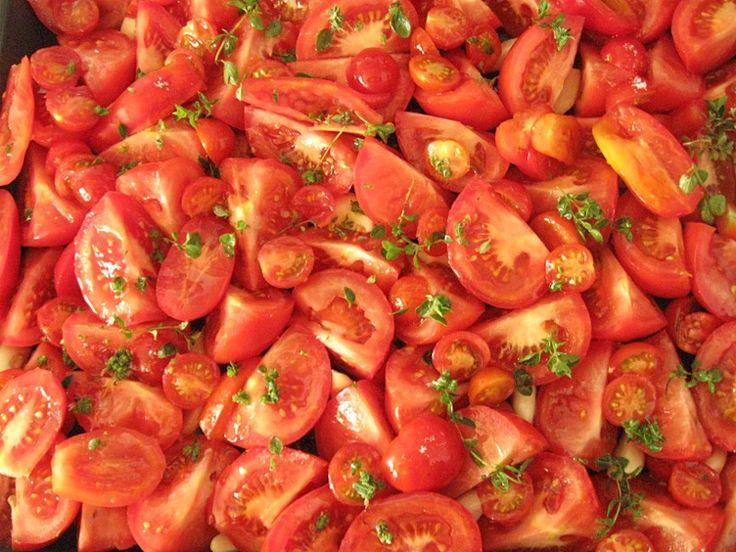 Pomaly pečené paradajky « Danielin blog