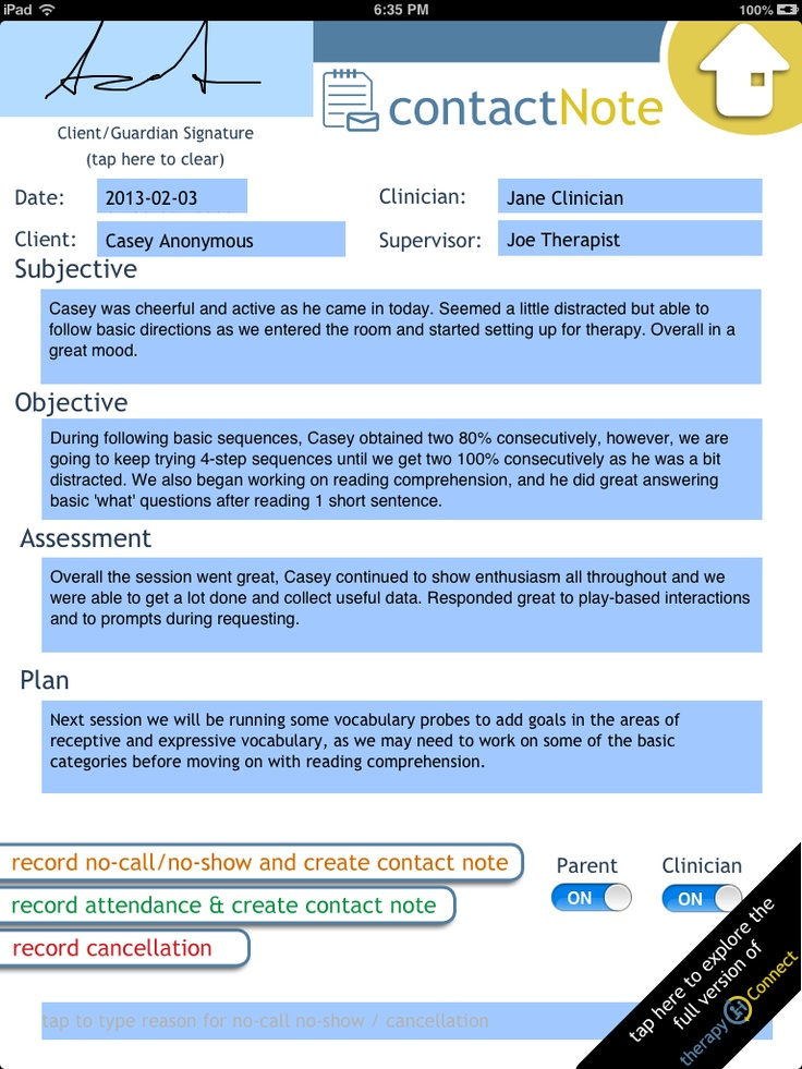 Subjective Objective Assessment Planning Note kicksneakers