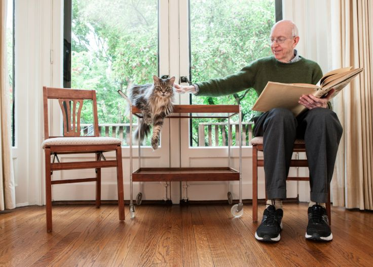 [retired] Judge Richard Posner (& his Maine Coon, Pixie!)