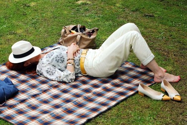 Summertime Picnic Look  The Rich Life on a Budget  Catherine of Not Dressed as Lamb