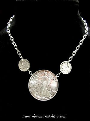 Got Coins? Fantastic custom made coin jewelry