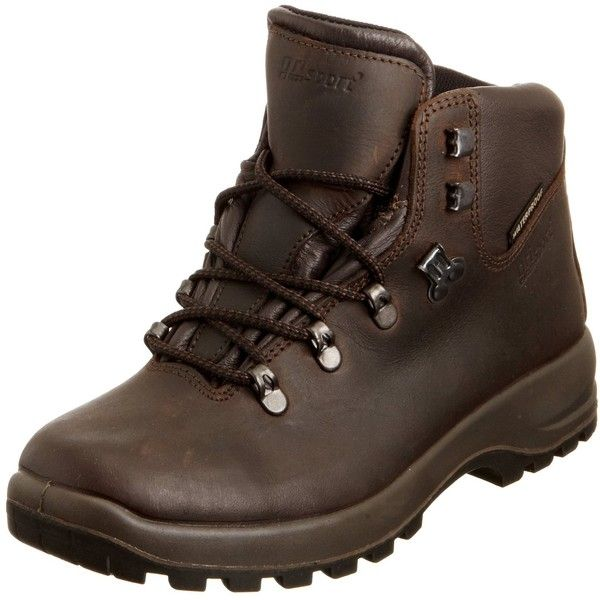 Grisport Women's Lady Hurricane Hiking Boot (1,715 MXN) ❤ liked on Polyvore featuring shoes, boots, hiking boots, brown boots and brown shoes