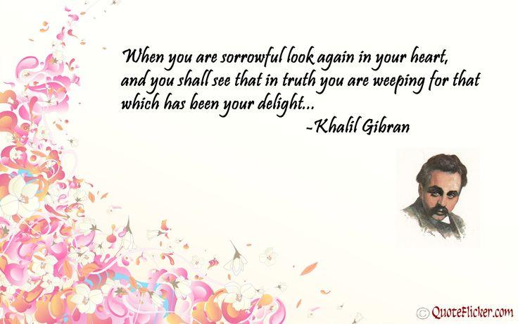 kahlil gibran quotes | Kahlil Gibran Happy Life Quotes - kootation.com