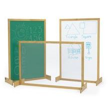 Cheap Temporary Room Dividers | Discount School Supply - Hardwood Frame Room Dividers