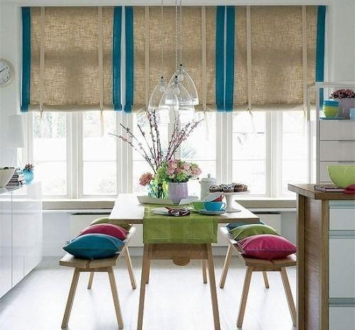 Среди редко встречающихся материалов для штор пока что находятся шторы из бамбука