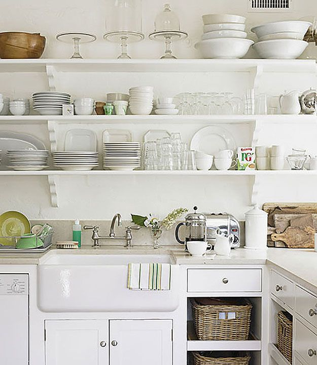 Kitchen Open Shelving Dust: 47 Best Open Shelving In Kitchens Images On Pinterest