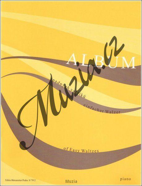 Album | Album snadných valčíků | Noty na klavír (H 7912)
