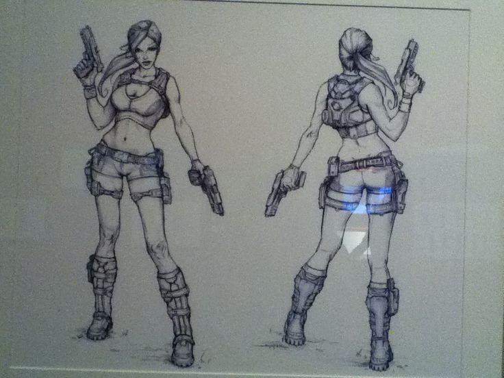 Laura Croft Sketch