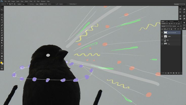 A little birdy animation done in After Effects.