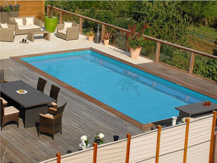 les 25 meilleures id es concernant piscine bois promo sur pinterest piscine promo salon de. Black Bedroom Furniture Sets. Home Design Ideas