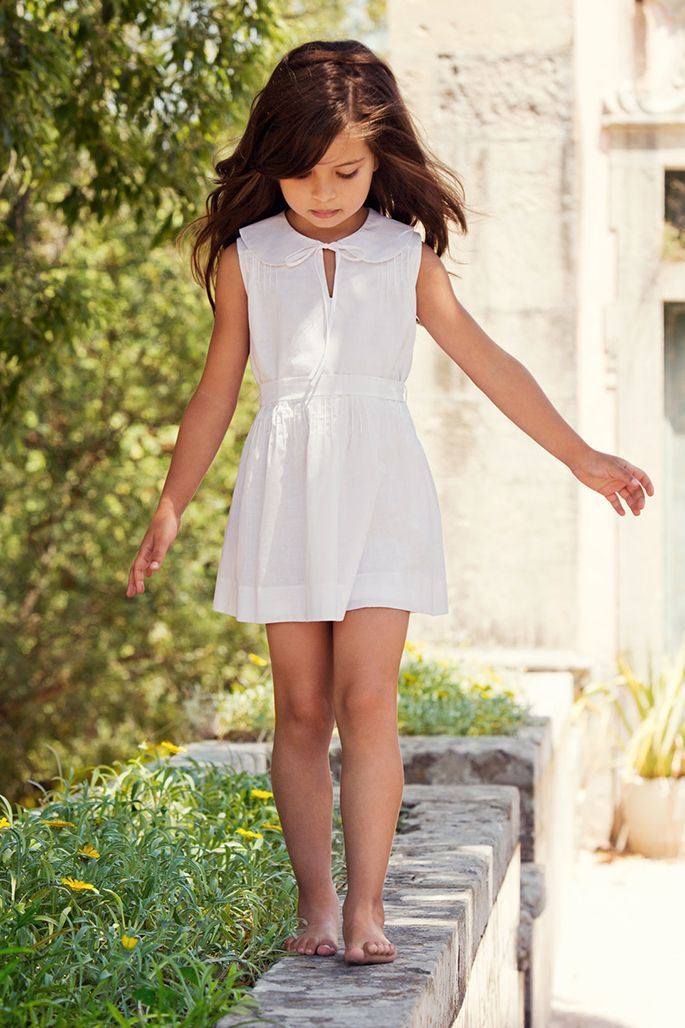 the checklist: spring break essentials for the little ones :: simple vestido blanco