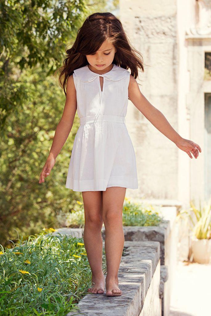 the checklist: spring break essentials for the little ones :: simple vestido blanco