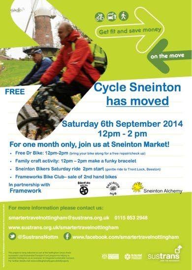 Autumn's the season for Sneinton's Cyclists - Sneinton Alchemy