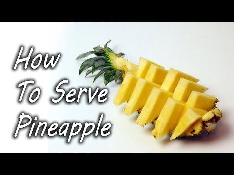 Zo kun je het makkelijkst een ananas snijden