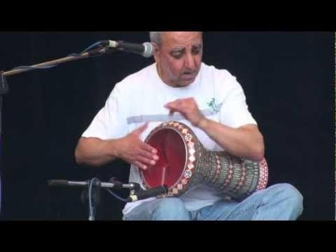 Souad Massi's darbouka player - Rabah Khalfa. Amazing.