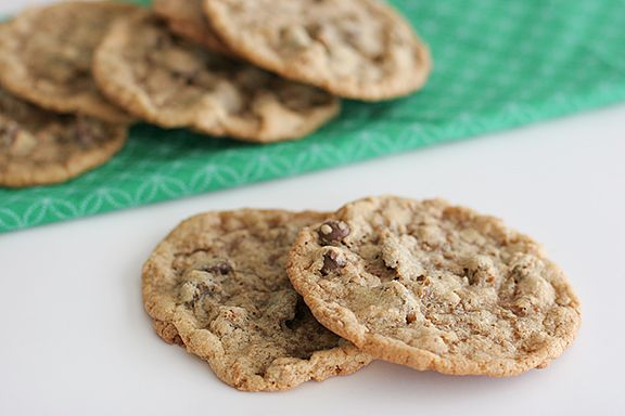 Chocolate Chip Coconut Crunch Cookies Recipe — Dishmaps