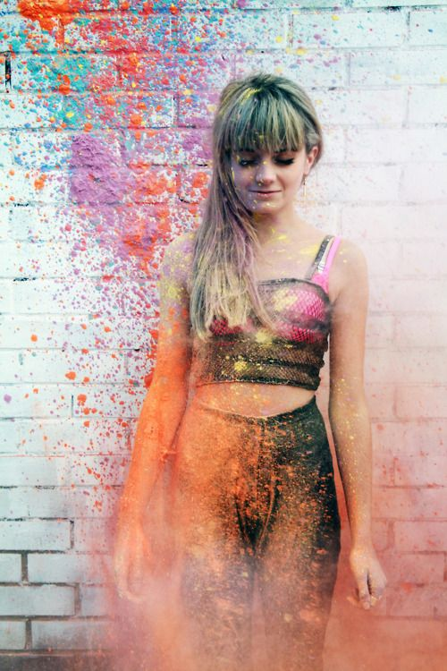 . of paper and things .: inspiration board | splatter paint