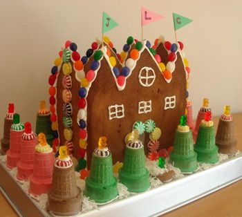 Gingerbread Castle To Do With The Girls Pinterest Gingerbread
