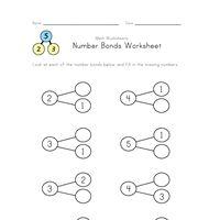 Best 25+ Number bonds worksheets ideas on Pinterest