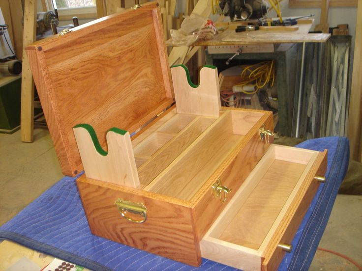 Woodworking Plans Gun Cleaning Box To Build Pinterest