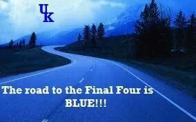"""For a UK Wildcats Men's Basketball fan it's never too early to think """"blue."""""""