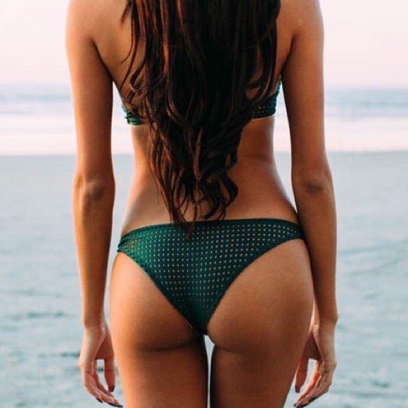 Acacia swimwear waikoloa bottoms seaweed mesh Seaweed/topless mesh no trades acacia swimwear Swim Bikinis