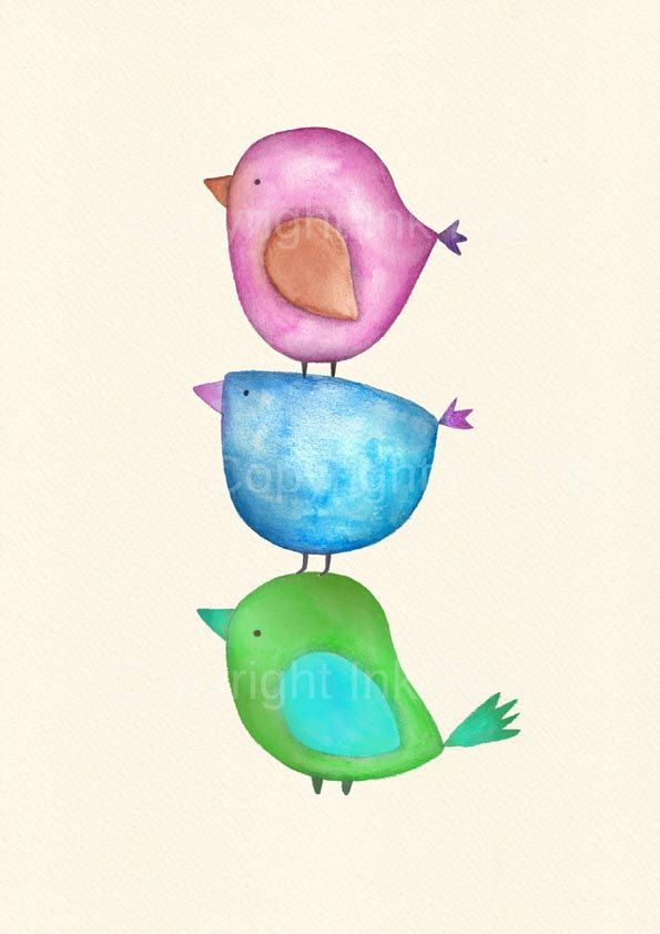 3 little birdies