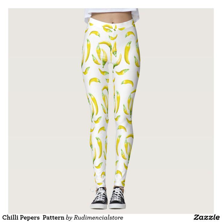 Chilli Pepers  Pattern Leggings