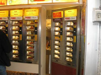 "Febo food automat - the real ""dutch food"""