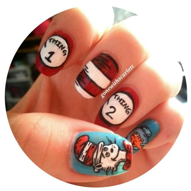 Cat in the hat nails