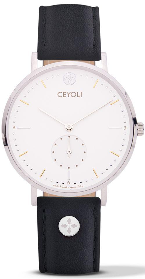 CEYOLI ist eine Mission! Die Uhren für Damen in Silber begleiten dich jeden Tag und erinnern dich dein Leben zu feiern.