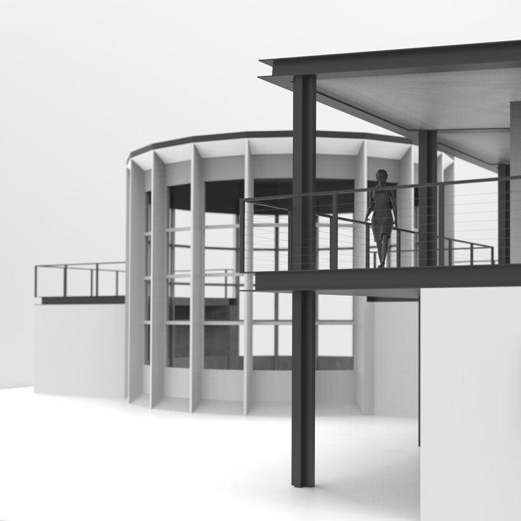 Casa per un Artista - Modello di Studio. www.lorenzomorandi.com